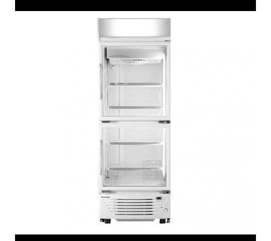 上下門直立式展示冷凍櫃